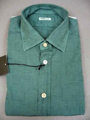 , Collar : Regular, Cuff : Barrel, Chest Pocket : No, Notes: : Kiton Shirt Shipment,
