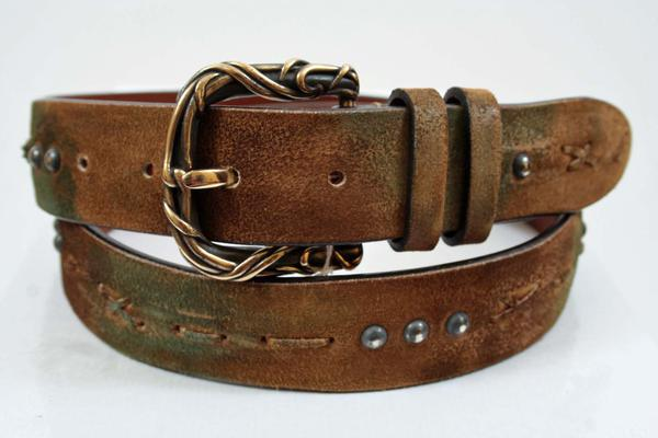 Notes:  : While this belt is a fixed length, any leather person could shorten it to your desired length for a minimal cost, Belt Width : 1.375 inches,  (Available in size 40, 44)