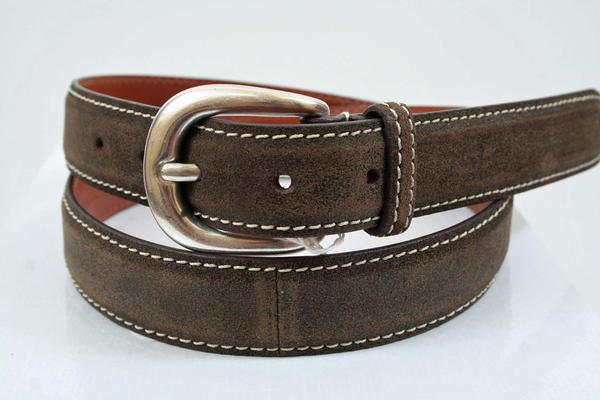 Notes:  : While this belt is a fixed length, any leather person could shorten it to your desired length for a minimal cost, Belt Width : 1.125 inches,  (Available in size 40, 42, 44)