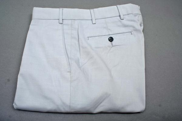 , ,  Inseam:  : Unhemmed, Flat Front or Pleated : Flat Front, Sale Notes : Cotton and Cord Sale,  (Available in size 38, 42)