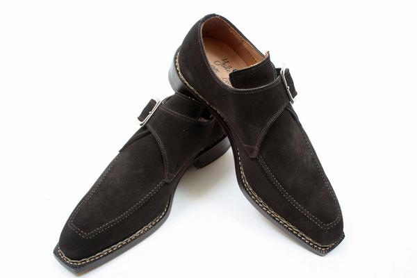 Style  : Monkstrap,  Construction  : Norwegian, Exterior Length : 11.875 inches, Exterior Width : 4.125 inches, Notes : Stamped Euro 41.5-New Certo Shipment,  (Available in size 8, 8.5, 10)