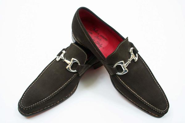 Style  : Loafer,  Style Notes  : Bit Loafer,  Construction  : Norwegian, Exterior Length : 12.5 inches, Exterior Width : 4.125 inches, Notes : Stamped Euro 43-New Certo Shipment,  (Available in size 7.5, 10, 10.5, 11)