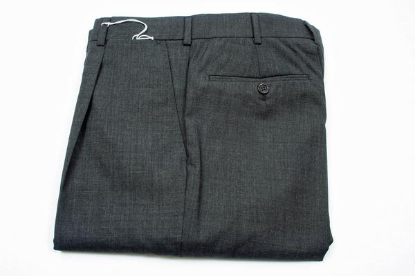 , ,  Inseam:  : Unhemmed, Flat Front or Pleated : 1 Pleat, Notes : These pants are Model 6011 with measurements for the following sizes (not all sizes are available in each pant so check availability): Size 30 across the thigh of 11.75 inches, across the cuff of 7.75 inches and a rise of 10.25 inches, Size 32 across the thigh of 12 inches, across the cuff of 8 inches and a rise of 10.5 inches, Size 34 across the thigh of 12.25 inches, across the cuff of 8 inches and a rise of 10.75 inches, Size 36 across the thigh of 12.5 inches, across the cuff of 8.25 inches and a rise of 11 inches, Size 38 across the thigh of 13 inches, across the cuff of 8.5 inches and a rise of 11 inches, Size 40 across the thigh of 13 inches, across the cuff of 8.5 inches and a rise of 11.25 inches, Size 42 across the thigh of 13.75 inches, across the cuff of 8.75 inches and a rise of 11.75 inches, Size 44 across the thigh of 14.25 inches, across the cuff of 9 inches and a rise of 12 inches-New Belvest Shipment,  (Available in size 44, 40, 40, 38, 30)