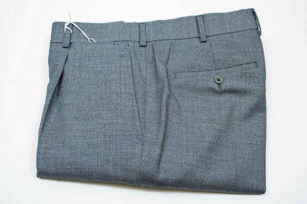 , ,  Inseam:  : Cuffed at 33, Flat Front or Pleated : 1 Pleat, Notes : New Belvest Shipment,
